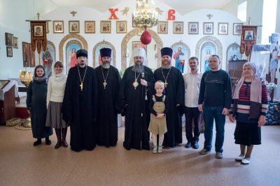 Накануне Пасхи митрополит Серафим посетил храмы Пензы
