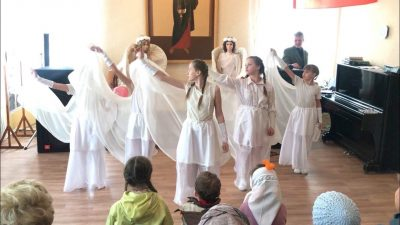 В воскресной школе Покровского собора Пензы состоялся отчетный концерт