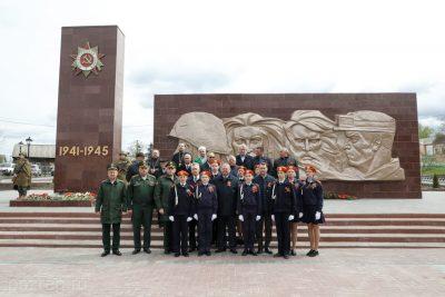 Священнослужители приняли участие в открытии памятника воинам, погибшим в годы Великой Отечественной войны