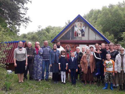 В селе Вирга молитвенно почтили память святителя Николая Чудотворца