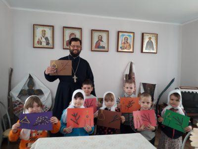 Открытый урок для группы детского сада состоялся в церкви села Вирга