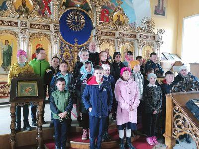 Священник встретился с учениками средней школы №60
