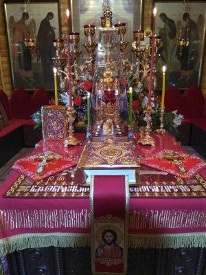 В день памяти великомученика Георгия Победоносца в селе Бессоновка отметили престольный праздник