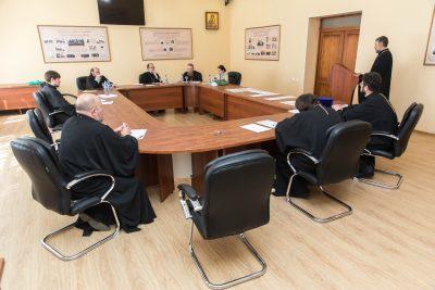 Состоялся комплексный аттестационный экзамен у учащихся курсов повышения квалификации священнослужителей