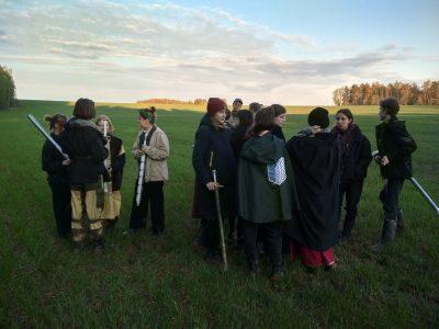 Юные разведчики НОРД «Русь» приняли участие в межотрядной игре «Викинги» в Обнинске