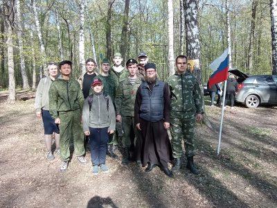 Представители православной молодежи приняли участие в патриотической игре