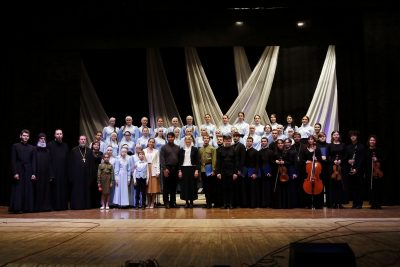 В Кузнецке состоялся показ литературно-музыкальной композиции «Собирает Россия полки»