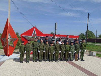 Священник поздравил кадетов с принятием присяги