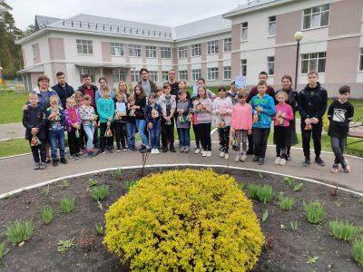 Представители молодежных объединений епархии провели пасхальный квест для воспитанников детского приюта