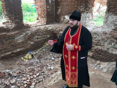 В Успенском храме села Калинино почтили память первого пензенского губернатора Филиппа Лаврентьевича Вигеля