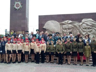 Священнослужитель принял участие в торжественном мероприятии по случаю Дня Победы
