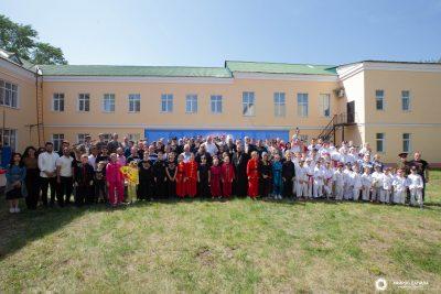 На базе Пензенской духовной семинарии прошел VII Международный Георгиевский фестиваль боевых искусств «За веру и отечество»