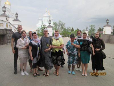 Состоялось паломничество в Дивеево