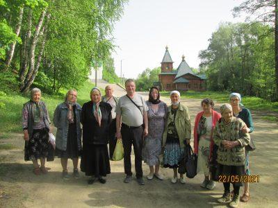 Состоялось паломничество на Семиключье