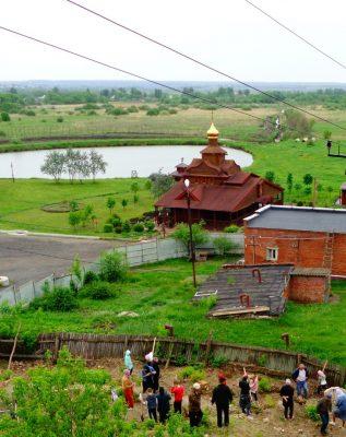 В Нижнем Ломове начались исследования на месте бывшего Казанского собора