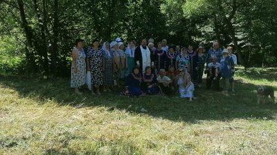 В день Святой Троицы в селе Армиево состоялось праздничное мероприятие