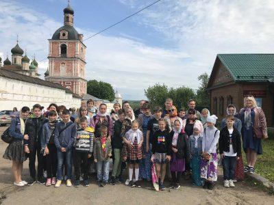 Воспитанники воскресной школы «Донские» посетили малую родину святого благоверного князя Александра Невского