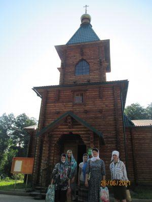Пензенские паломники посетили Семиключье