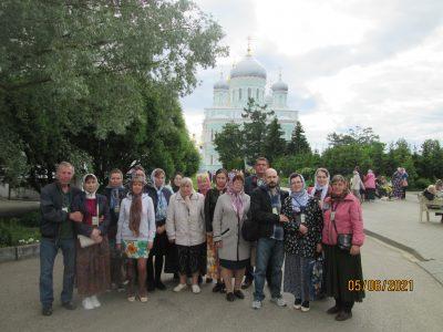 Пензенские паломники посетили Дивеево
