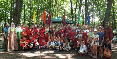 Пензенская Православная Дружина «Застава» приглашает в летний православный палаточный лагерь «Лесной город»