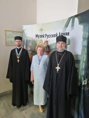 Представители Пензенской епархии приняли участие в выставке к 100-летию Русского исхода