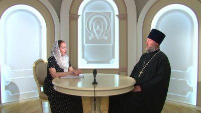 Гостем нового выпуска программы «Вопросы веры» стал протоиерей Василий Кочетков