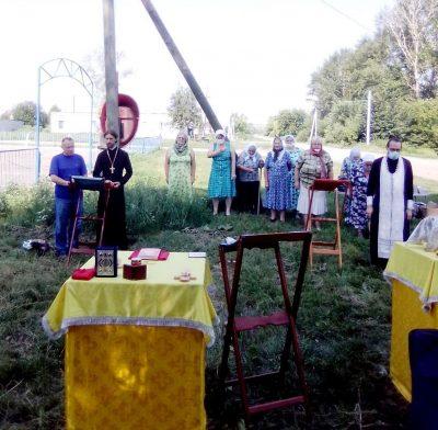 Миссионерская Божественная литургия под открытым небом состоялась в селе Чертково Бессоновского района