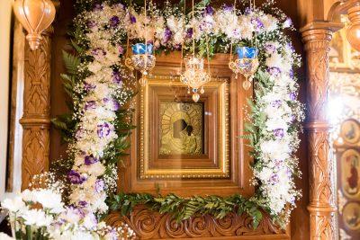 В престольный праздник митрополит Серафим совершил литургию в Нижнеломовском Казанском Богородицком мужском монастыре
