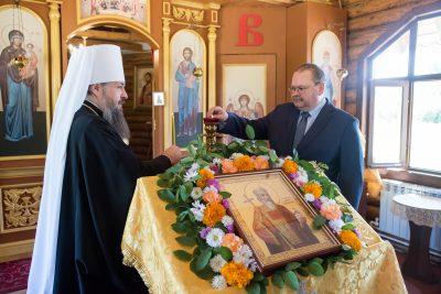 Врио губернатора Пензенской области посетил Владимирский храм в престольный праздник