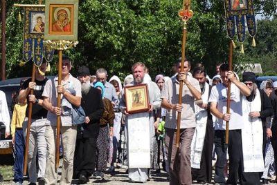 В Нижнеломовском благочинии состоялся крестный ход на место явления чудотворного образа Иоанна Крестителя — Ангела пустыни