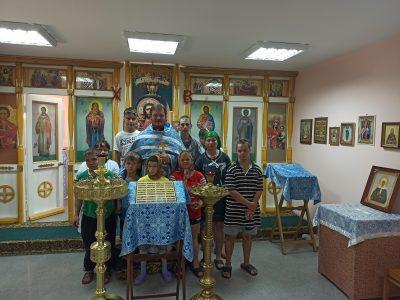 В Мокшанском детском доме-интернате для умственно отсталых детей совершена Божественная литургия