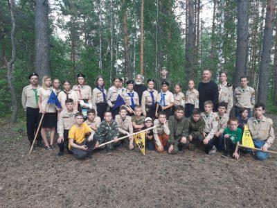 На Семиключье завершился лагерь «Всегда на страже» для добровольцев детско-юношеской организации НОРД «Русь»