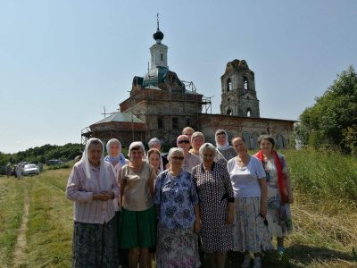 Состоялось паломничество в с. Стяжкино Нижнеломовского района