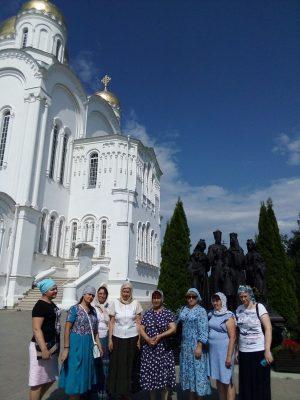 Состоялось паломничество в Серафимо-Дивеевский монастырь