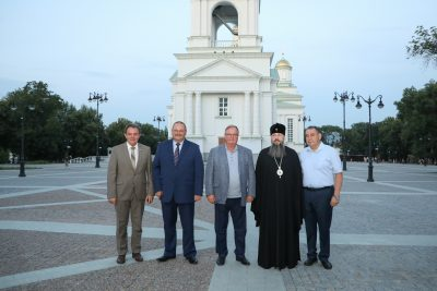 Председатель Императорского Православного Палестинского Общества Сергей Степашин посетил Спасский кафедральный собор