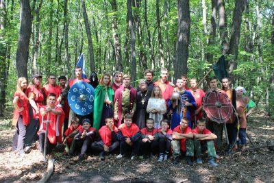 Православный детский лагерь «Лесной город» прошел в Малой Валяевке