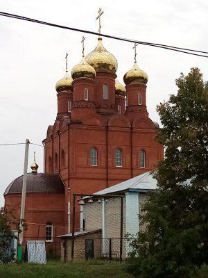 На Никольском храме р.п. Шемышейка завершена установка куполов