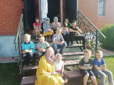 В Духовно-просветительском центре «Исток» состоялся традиционный двухдневный лагерь «Яблочный спас»