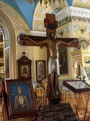 Покровский архиерейский собор посетили участники автомобильного крестного хода «Святая Русь»