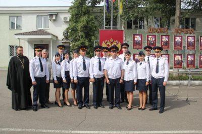 Священнослужитель принял участие в церемонии вручения служебных удостоверений выпускникам ведомственных вузов ФСИН России