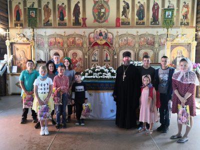 Молебен перед началом учебного года состоялся в Серафимовском храме Пензы