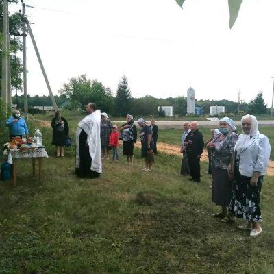 В селе Армиево состоялся водосвятный молебен на месте разрушенного храма