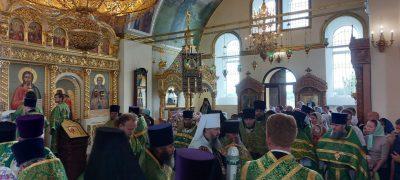 Паломники посетили Соловцовку в день памяти священноисповедника Иоанна Оленевского
