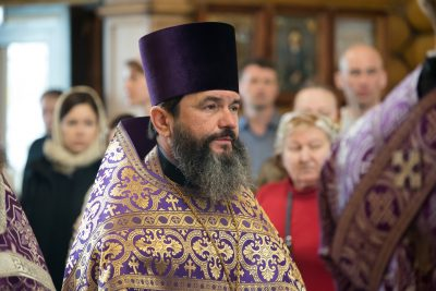 Свой 55-летний юбилей отмечает протоиерей Вадим Петрушков