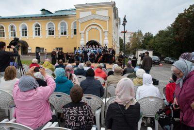 В Пензе состоялся праздничный концерт «За Веру и Отечество», посвященный 800-летию со дня рождения святого благоверного князя Александра Невского