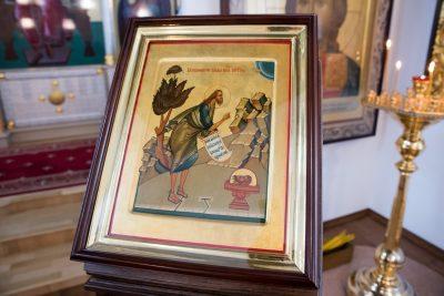 В канун Усекновения главы Иоанна Предтечи митрополит Серафим совершил всенощное бдение в Спасо-Преображенском мужском монастыре
