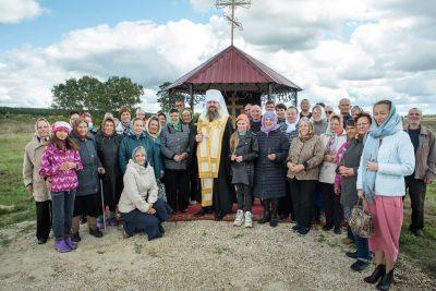 Митрополит Серафим освятил часовню в честь Вознесения Господня на месте разрушенного храма в селе Безводное