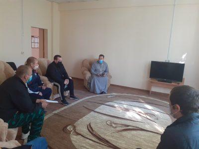 Протоиерей Антоний Шварев встретился с сотрудниками Уголовно-исполнительной инспекции и осужденными без изоляции от общества