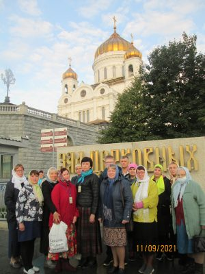 Пензенские паломники посетили святыни города Москвы