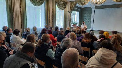 В воскресной школе при Петропавловском храме Пензы прошло первое в этом году родительское собрание